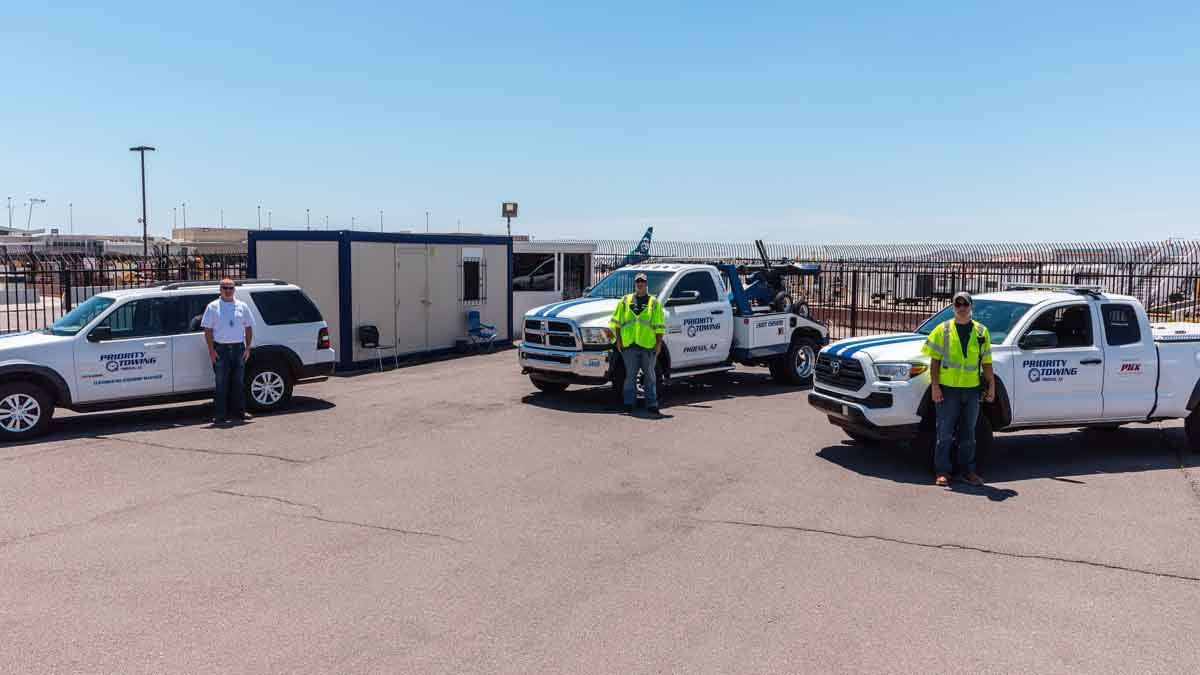 Towing Sky Harbor Airport Roadside Assistance